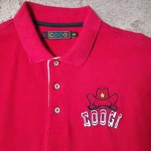 Vintage COOGI Only The Strong Survive Polo